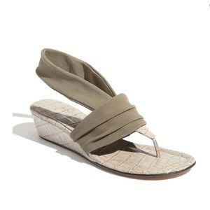 Donald Pliner DASAN slingback wedge sandal 5.5